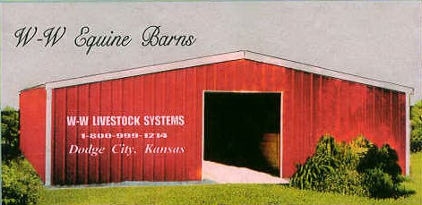 Equine Barns built W-W Strong: strength and dependability while portable, modular, and expandable.